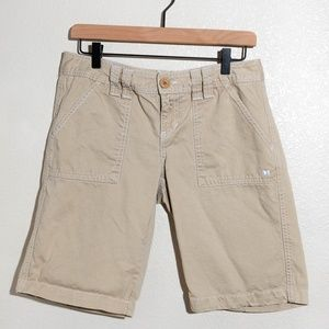 Aeropostal Tan Bermuda Shorts